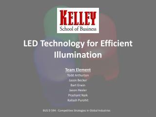 LED Technology for Efficient Illumination