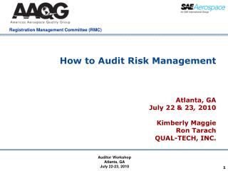 How to Audit Risk Management