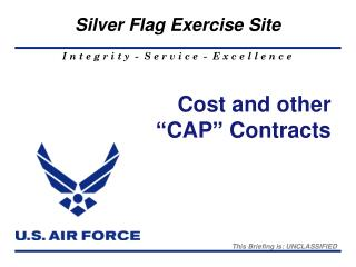 """Cost and other """"CAP"""" Contracts"""