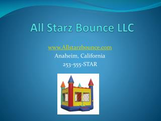 All Starz Bounce LLC