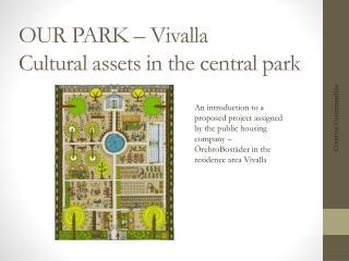 OUR PARK – Vivalla Cultural assets in the central park