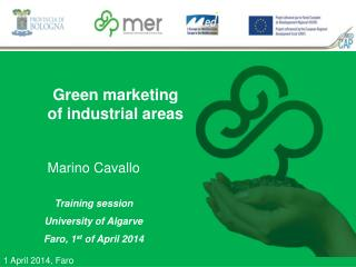 Green marketing of industrial areas