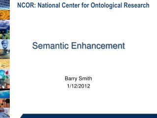Semantic Enhancement
