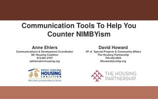 Communication Tools To Help You Counter NIMBYism