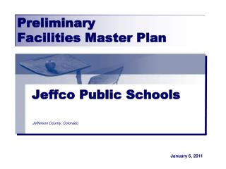 Preliminary  Facilities Master Plan
