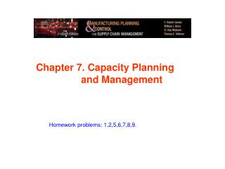 Chapter  7. Capacity Planning 			and Management