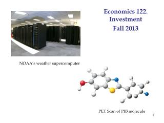 Economics 122. Investment Fall  2013