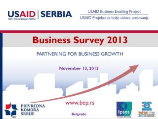 Business Survey 2013