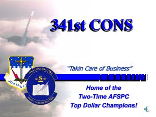 341st CONS