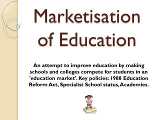 Marketisation of Education