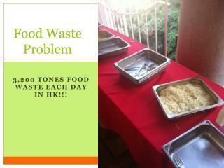 Food Waste Problem