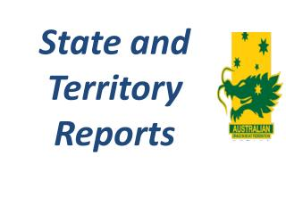 State  and Territory  Reports
