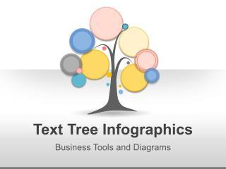 Text Tree Infographics