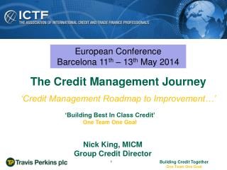 'Credit Management Roadmap to Improvement…'