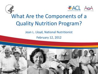 What Are the Components of a Quality Nutrition Program?