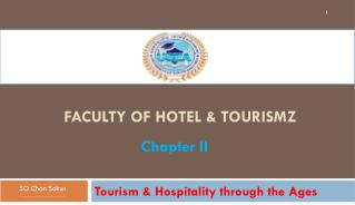 Faculty of Hotel &  Tourismz