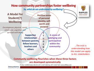 How community partnerships foster wellbeing So, what do we understand by wellbeing?