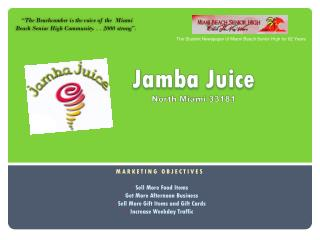 Jamba Juice North Miami 33181