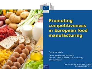 Promoting  competitiveness in European food manufacturing