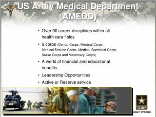 US Army Medical Department (AMEDD)