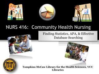 NURS 416: Community Health Nursing
