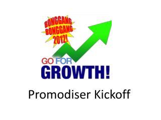 Promodiser  Kickoff