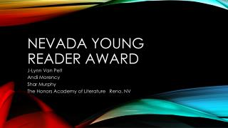 Nevada Young Reader Award