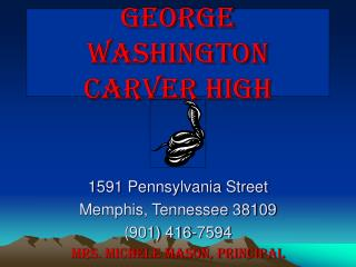 George Washington  Carver High