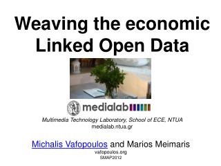Weaving the economic Linked Open Data