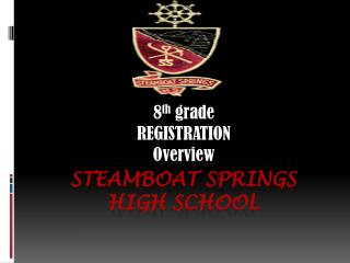 STEAMBOAT SPRINGS  HIGH SCHOOL