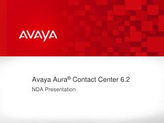 Avaya Aura ®  Contact Center 6.2