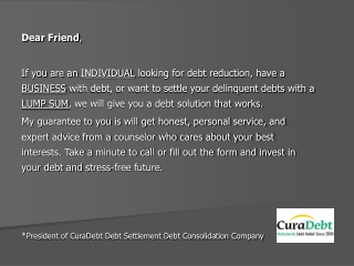 debt settlement, debt negotiation, consumer credit counselin
