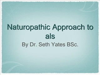 naturopathic approach to als