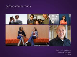 getting career ready