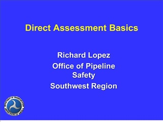 direct assessment basics