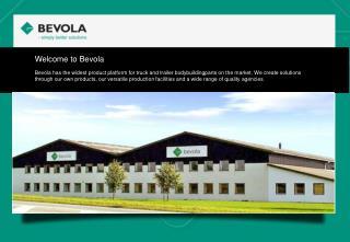 Welcome  to Bevola