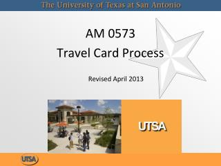 AM 0573 Travel Card Process