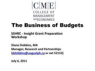 The Business of Budgets