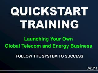 Launching Your Own Global Telecom and Energy Business