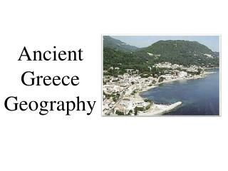 ancient  greece  geography