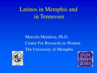 Latinos in Memphis and  in Tennessee