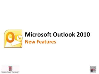 Microsoft Outlook 2010 New Features