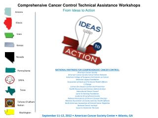 Comprehensive Cancer Control Technical Assistance Workshops From Ideas to Action