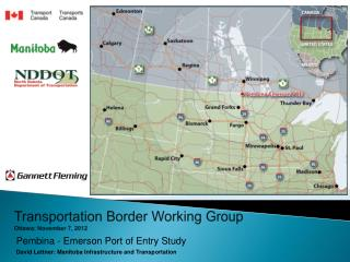 Transportation Border Working Group  Ottawa: November 7, 2012