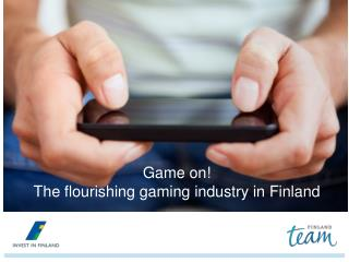 Game on! The  flourishing  gaming industry in Finland
