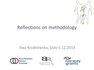 Reflections  on  methodology