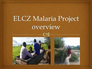 ELCZ Malaria Project  overview