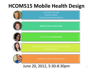 HCOM515 Mobile Health Design
