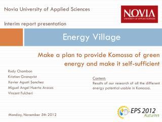 Energy Village