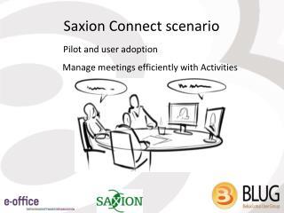 Saxion Connect scenario